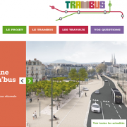 Site Web du Tram'bus