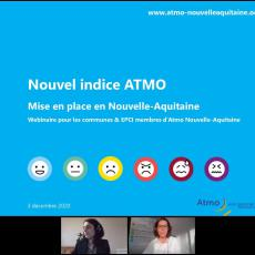 See Webinaire : le nouvel indice ATMO