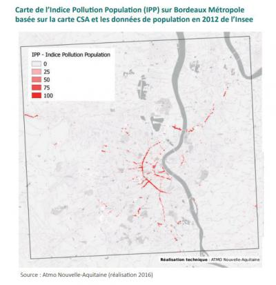 Carte Pollution Bordeaux.Pollution De L Air Quelle Situation Sur Bordeaux Metropole